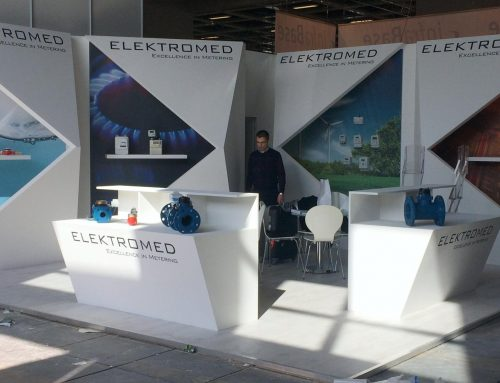 ELEKTROMED Aufbau WASSER BERLIN INTERNATIONAL 2015